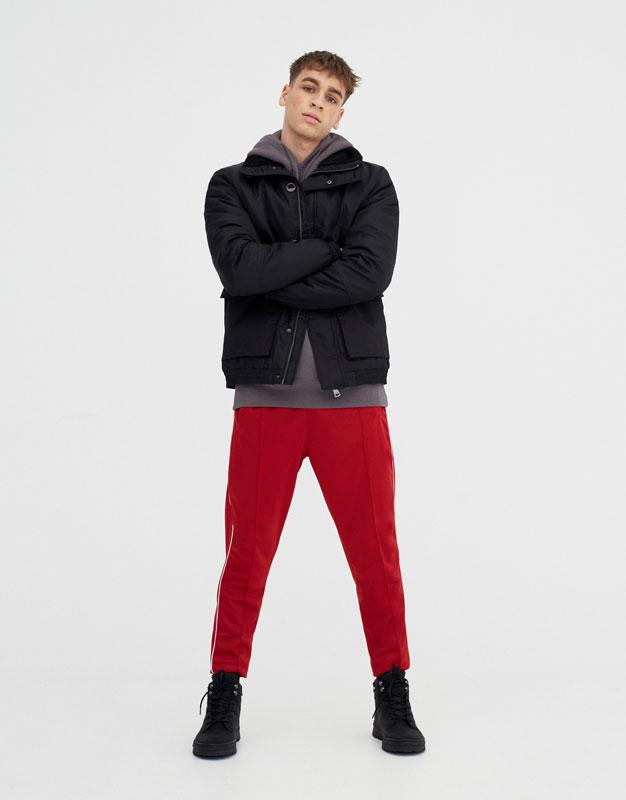 A Homme Zara Zara En Vestes Blouson homme Plis Jean 8nwPk0O