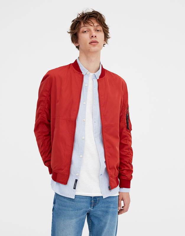 Bomber jacket in several colours ...