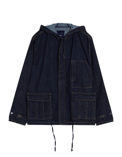 Parka denim
