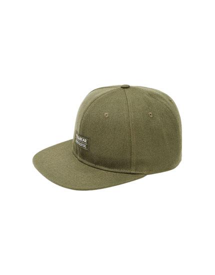 Khaki logo cap