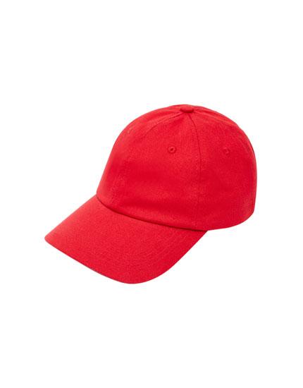 Basic-Kappe in Rot