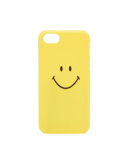 Smiley face mobile phone case