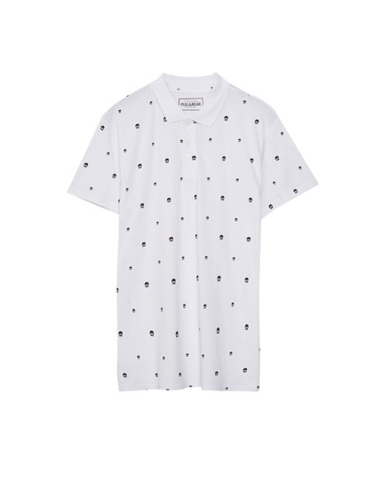 Polo print allover
