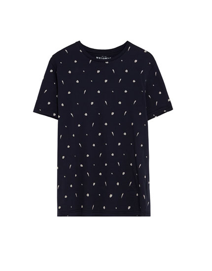 Camiseta print allover