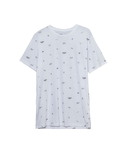 Camiseta print all over