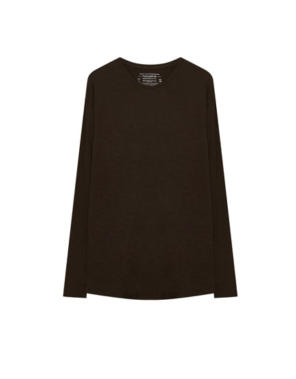 Basic t-shirt – long fit
