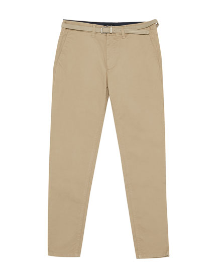 Pantalón chino skinny fit