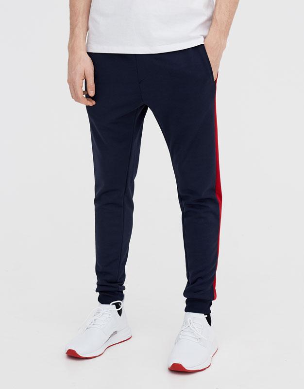 Спортивные штаны со знаком пацифик