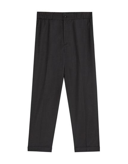 Pantalon jogging type tailoring