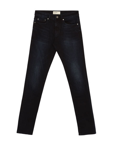 Superskinny fit jeans in zwart