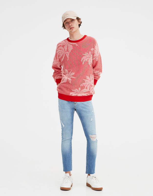 Jean Super Skinny Déchiré by Pull & Bear