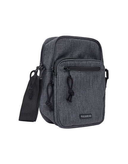Small anthracite backpack