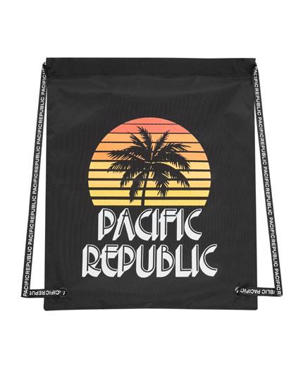 Rygsæk Pacific Republic-festival
