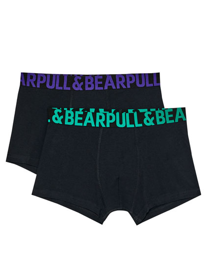 2-pack of logo boxers