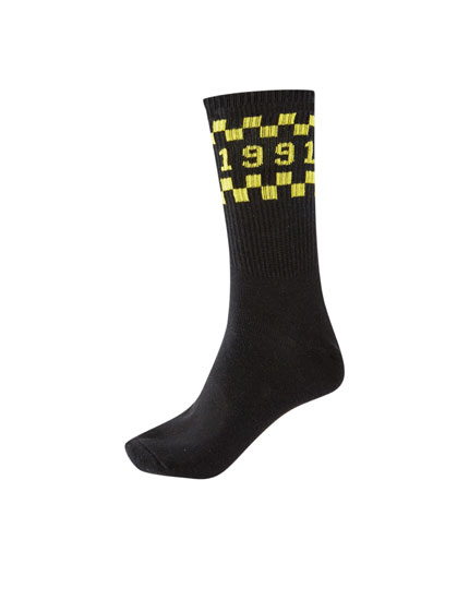 Long 1991 racing socks