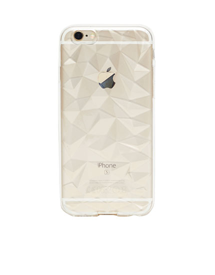 Coque iphone type diamant