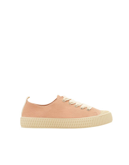 Join Life pink plimsolls