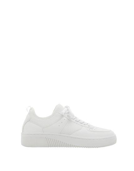 White urban sneakers