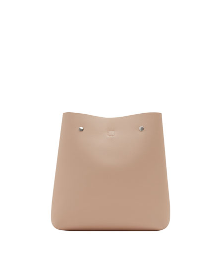 Nude urban fashion backpack