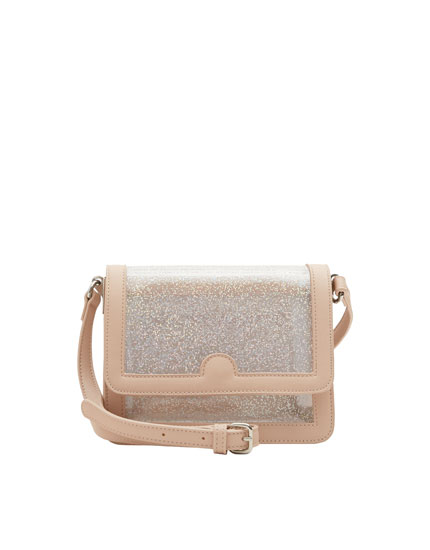 Geantă crossbody mini din vinilin