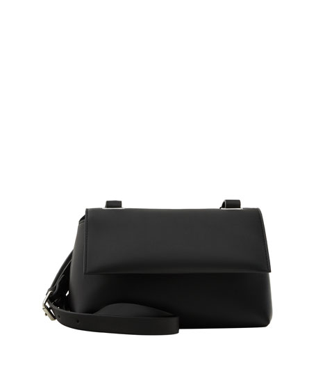 Black urban crossbody bag