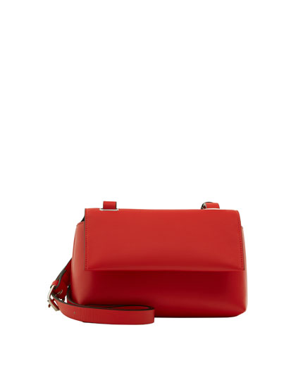 Red urban crossbody bag