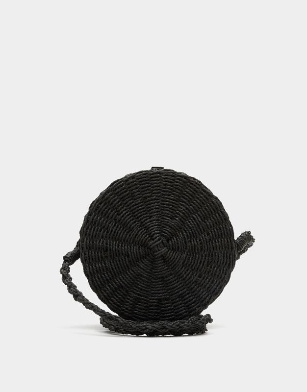 Bandolera redonda color negro