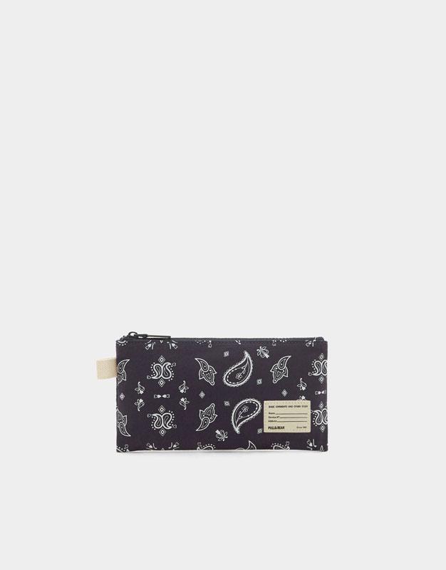 Printed fabric case