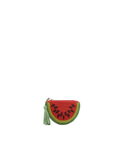 Geldbeutel in Wassermelonenform