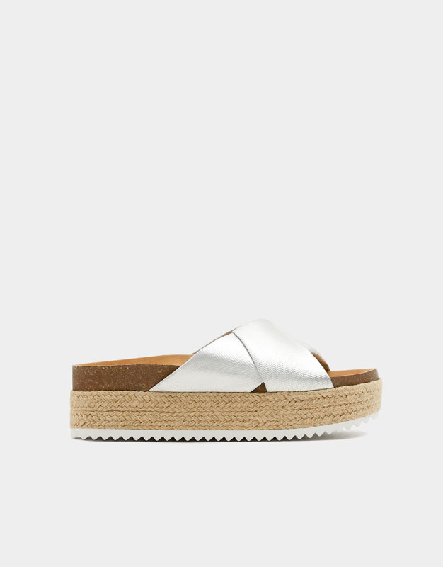 Jute Bear Pullamp; Sandals ShoptagrSliver By PO0v8nwymN