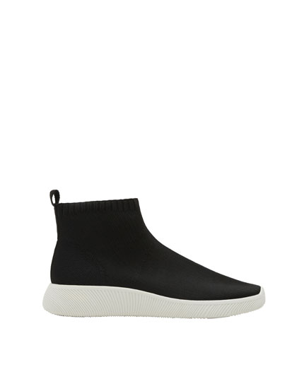 Fabric sock-style sneakers