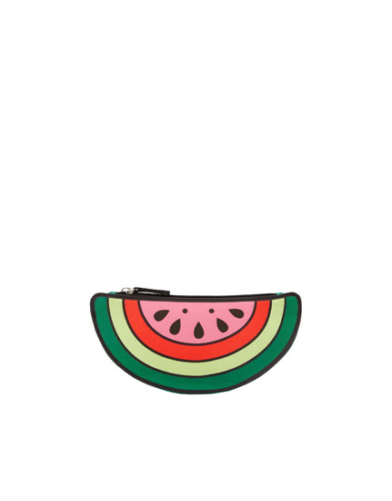 Watermelon toiletry bag