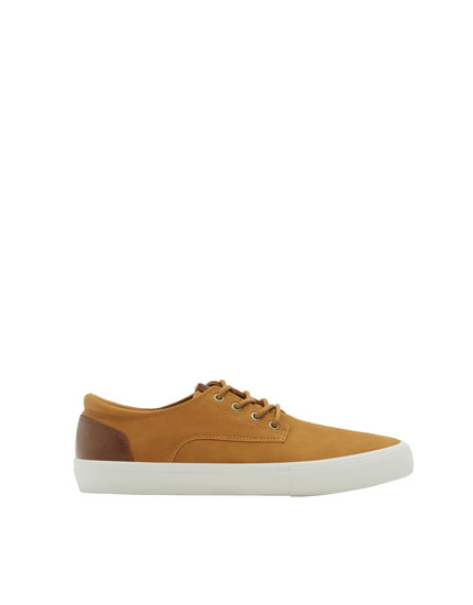Mustard yellow smart summer sneakers