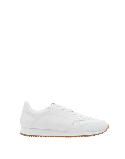Retro-Sneaker in Weiß