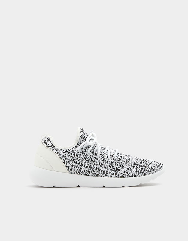 Embellished technical sneakers