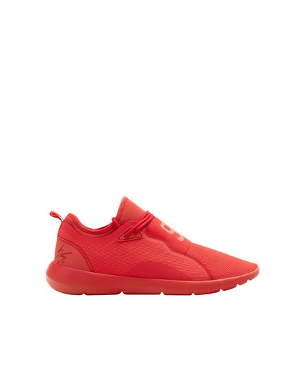 Red Marc Márquez 93 stretch sneakers