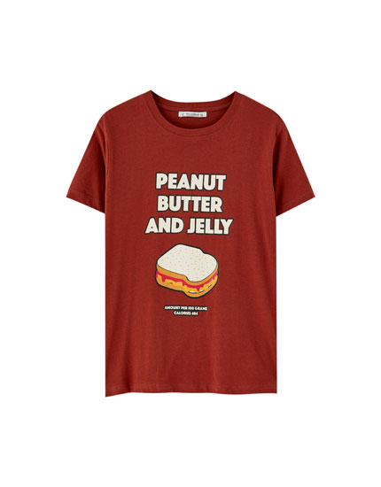 Short sleeve sandwich T-shirt
