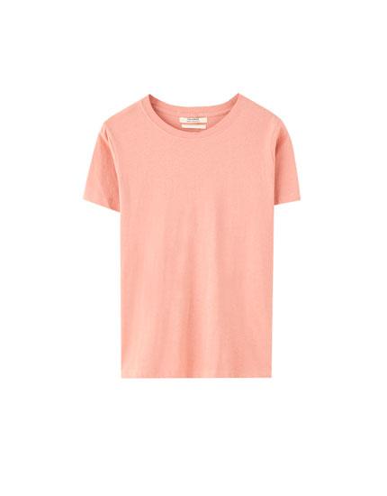 Basic kortærmet t-shirt