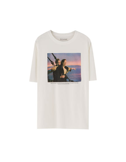 Camiseta Titanic branca