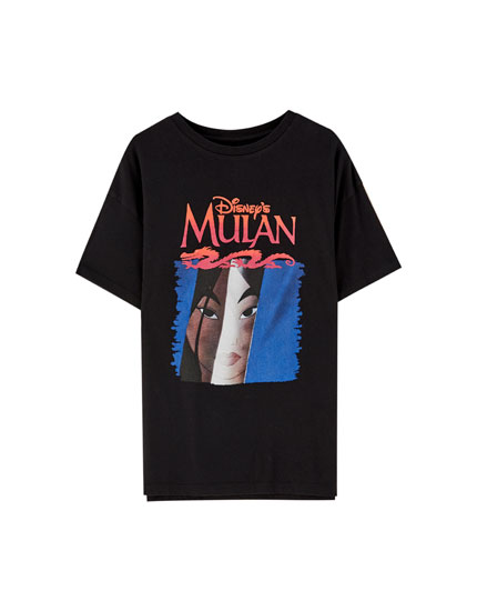 Black Mulan T-shirt