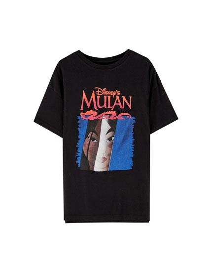 Camiseta Mulan negra