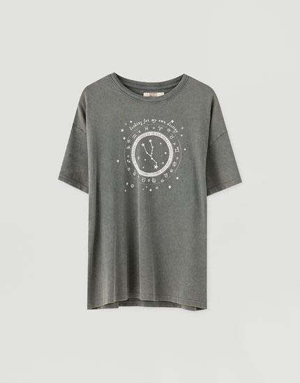 T-shirt imprimé astres