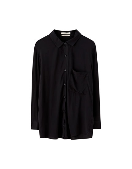 Basic long-sleeved shirt