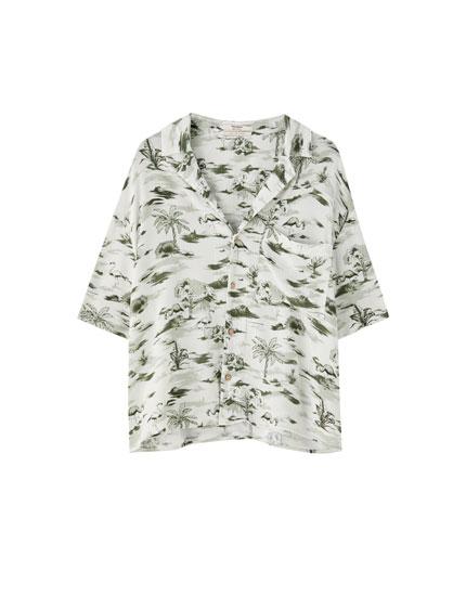 c1f8dcb028e4 Blusar och skjortor - kläder - Dam - PULL&BEAR Sverige