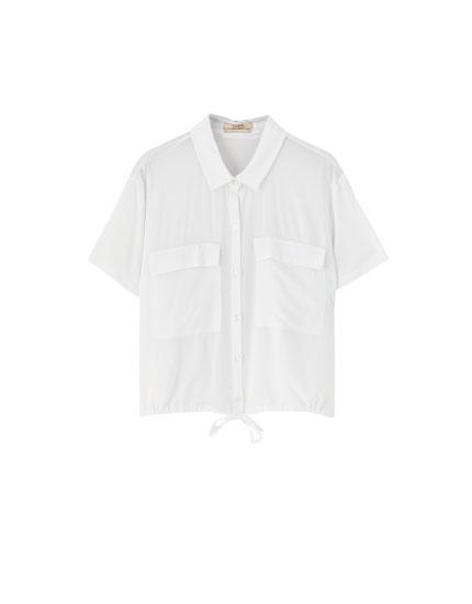 MujerPull Lo Y Último De Blusas amp;bear Camisas En Descubre 3LR4A5j