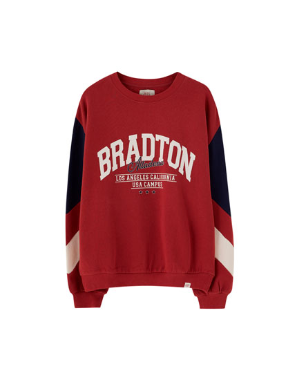 Sweat universitaire Bradton