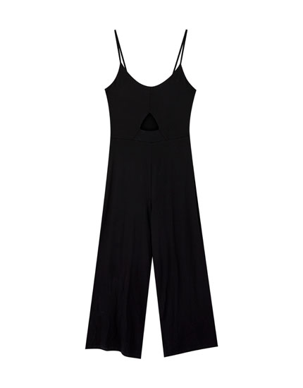 Cut-out jumpsuit