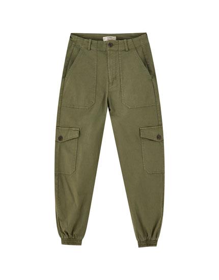 95e59a55cac1d Pantalons pour femme - Printemps Été 2019 | PULL&BEAR