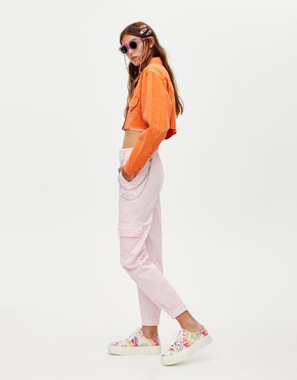 Cargo chino trousers