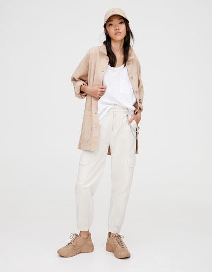 Pantalon cargo chino